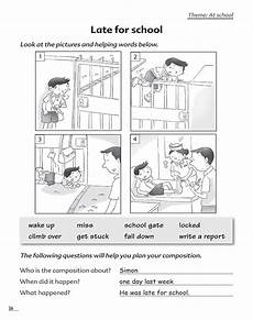 writing composition practice worksheets 22776 picture composition 3 scholastic learners
