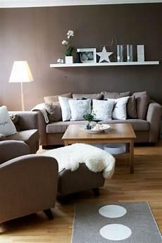 dekoideen wohnzimmer modern wohnzimmer modern einrichten wandfarbe braun wei 223 e akzente