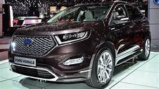 New Ford Edge Vignale Geneva Motor Show 2016 Hq