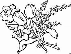 Gratis Malvorlagen Blumen Schoener Blumenstrauss Ausmalbild Malvorlage Blumen