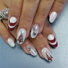 Gelnägel Bilder 2017 - almond shaped gel nails for nails