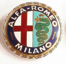 alfa romeo emblem neu new alfa romeo emblem ebay