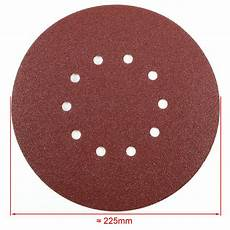 Amazon Com 50pcs Mix Different 25 50 Pcs 225mm Mix Grit Sander Disc Sanding Pad