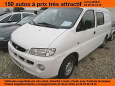 Hyundai H1 Fourgon Tole 2 5 Diesel 3 Places Occasion