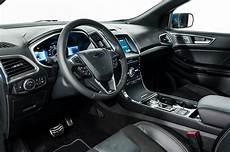 2019 ford interior shows the 2019 ford edge st inside and out motor trend