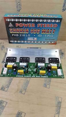400 watt lifier kit jual kit power amplifier 400 watt stereo plus sanken di lapak dina elektronik imamrofii