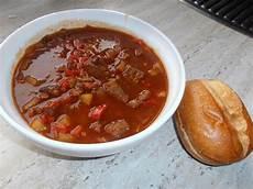 Rezept Für Gulaschsuppe - gulaschsuppe teddy01969 chefkoch
