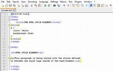 html styles megatek ict academy