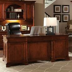 cherry home office furniture weathered cherry executive home office set hekman