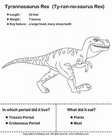 free dinosaur worksheets for grade 15398 simple dinosaur facts for worksheet turtle diary