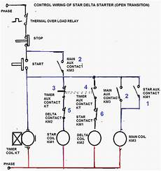 control circuit of star delta starter electrical info pics electrical circuit diagram