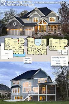 two story craftsman house plans plan 73377hs modern storybook craftsman house plan with 2