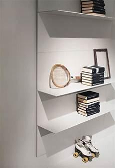mensole metallo moderne mensole lineari per salotto e libreria in alluminio