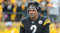 steelers make it official rudolph out of concussion steelers rudolph out against chargers the