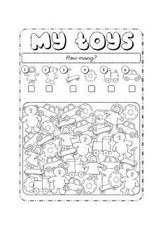 worksheets colors and toys 12707 worksheets the toys worksheets page 1