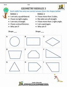 grade 3 math geometry worksheets free geometry worksheets 2nd grade geometry riddles