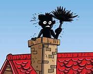 Image result for image chimney sweep set up