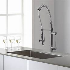 kraus kitchen faucet reviews kraus kpf 1602 chrome kitchen faucet with single lever pull out review cool ideas for home