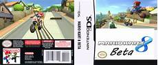 mario kart 8 beta nintendo ds box cover by silver tm