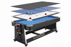 table multi jeux grande taille table de billard air hockey tennis de table toledo 7ft