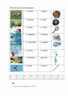 sports equipment worksheets 15781 sports equipment worksheets