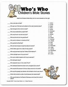 printable who s who children s bible stories sunday school bible activities for kids