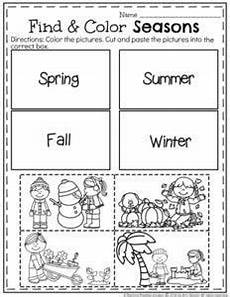 free printable worksheets on seasons kindergarten 14912 match the four seasons homeschooling kindergarten seasons worksheets and seasons