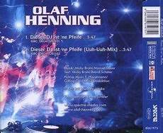 olaf henning dieser dj ist ne pfeife single cd 2012