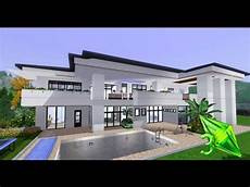 sims 3 modern house plans the sims 3 house designs modern elegance youtube