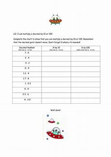 multiplying decimals worksheets by 10 and 100 7065 multiplying and dividing decimals by 10 and 100 by laurawigley12 teaching resources tes
