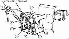 Ford Mustang 1971 1973 Fuse Box Diagram Auto Genius
