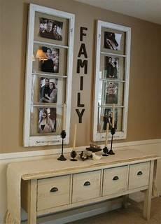 Familienfotos An Die Wand Shabby Chic Fenster Rahmen