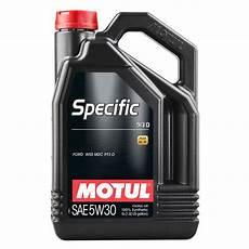 huile moteur motul specific ford 913d essence diesel 5w30