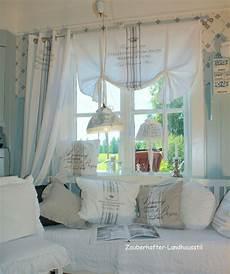 zauberhafte wohnidee im landhausstil gardinen schabby