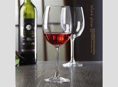 580ML crystal stemware wine glasses wholesale
