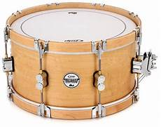 wood hoop snare pdp ltd classic wood hoop snare 7 quot x 14 quot sweetwater