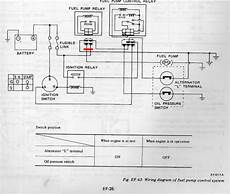 1978 datsun 280z wiring harness diagram 1978 z fuel relay fuel injection the classic zcar club