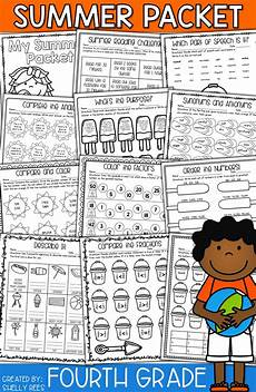 summer packet fourth grade shelly rees teaching resources summer kids summer activities for