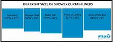 Standard Shower Curtain Length how is a standard or shower curtain liner