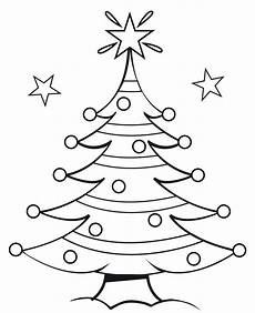 easy drawing christmas tree at getdrawings free download