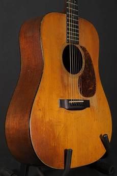 Sold Used Martin D 18 Vintage Pre War 1939 Acoustics