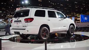 2020 Toyota Sequoia TRD Pro Dents Planets Crust As It