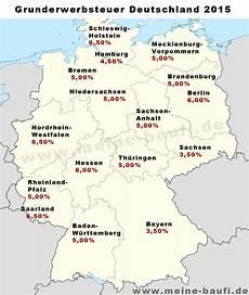 grunderwerbsteuer 2015 je bundesland www meine baufi de