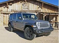 jeep wrangler jl 2018 2018 jeep wrangler jl sport cheapest way in but still