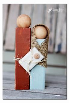 Wooden Nativity Silhouette Statue Sugar Bee Crafts