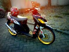 Modifikasi Motor Matic Mio Sporty by Contoh Mio Sporty Ring 17 Ade The Explorer