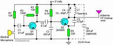 Fm Transmitter Circuit Diagram Schematic by Sensitive Fm Transmitter Circuit Diagram Schematics