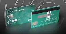Bnp Paribas Une Carte Bleue Avec Cryptogramme Visuel