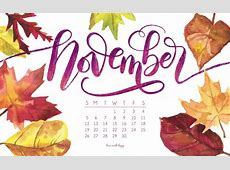 November 2017 Printable Calendar   Tech Pretties   Dawn Nicole