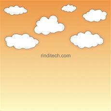 Contoh Gambar Cara Mewarnai Langit Siang Hari Kataucap